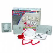 NC951/SS Stainless Steel Emergency Assistance Alarm Kit